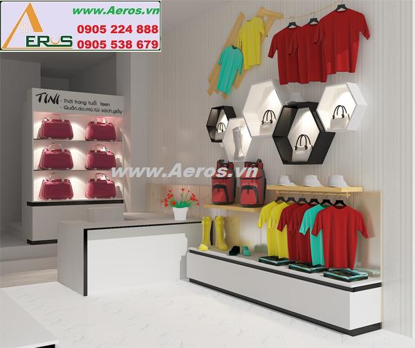 Thiết kế shop mẹ và bé đảm bảo uy tín và chất lượng